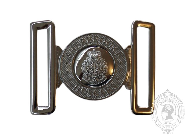 THE SHERBROOKE HUSSARS INTERLOCKING BUCKLE