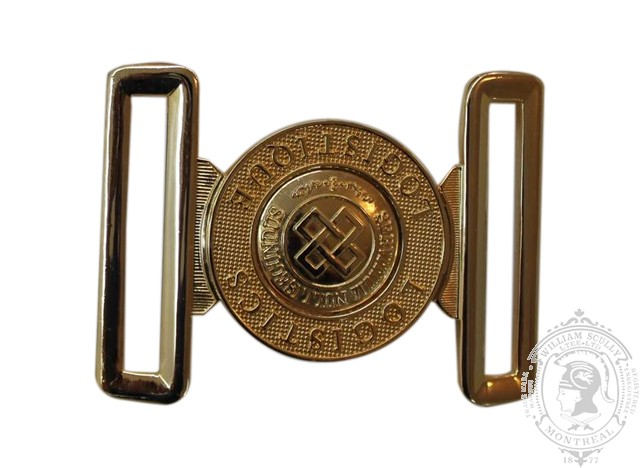 LOGISTICS BRANCH INTERLOCKING BUCKLE