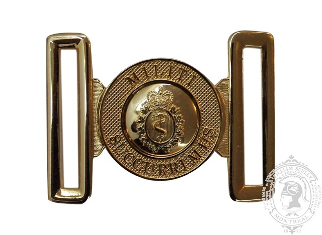 THE ROYAL CANADIAN MEDICAL SERVICE INTERLOCKING BUCKLE