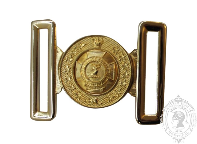 THE HASTINGS AND PRINCE EDWARD REGIMENT INTERLOCKING BUCKLE