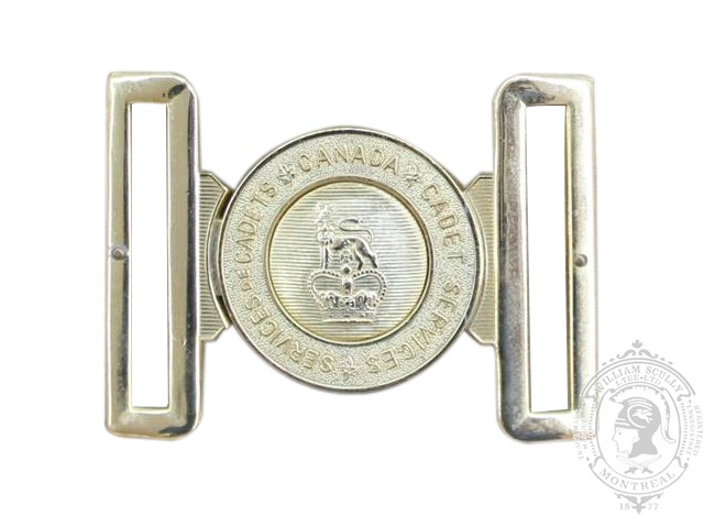 CADET INSTRUCTOR CADRE INTERLOCKING BUCKLE