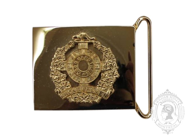 CANADIAN LEGION OF FRONTIERSMAN CEREMONIAL BUCKLE