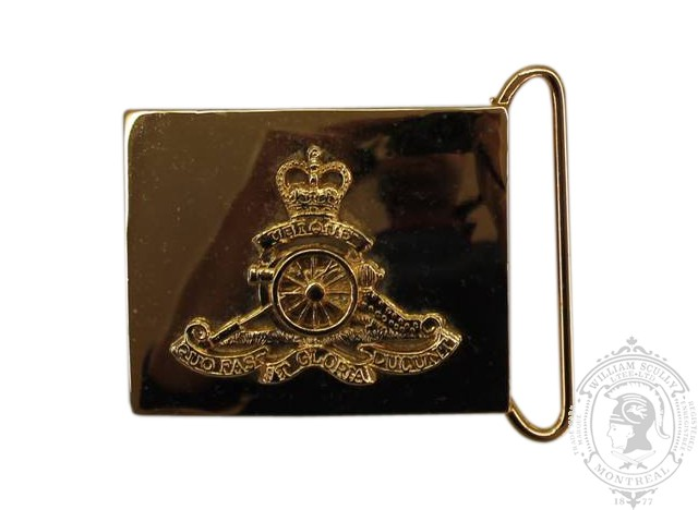 ROYAL CANADIAN ARTILLERY CEREMONIAL BUCKLE (STYLE 2)