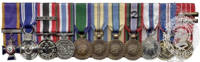 Miniature Medals Mounting
