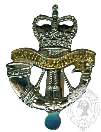 Insigne de képi North Saskatchewan Regiment