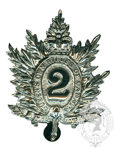 Insigne de képi Queen's Own Rifles