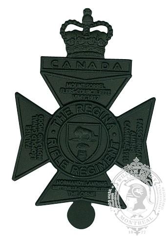Insigne de képi Royal Regina Rifles