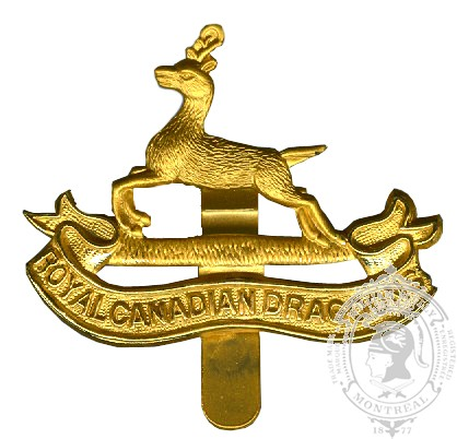 Insigne de képi Royal Canadian Dragoons