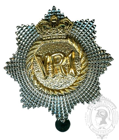 Insigne de képi Royal Canadian Regiment
