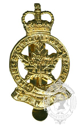 Insigne de képi Royal Montreal Regiment