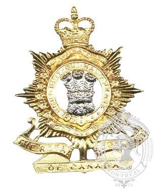 Insigne de képi Royal Regiment of Canada