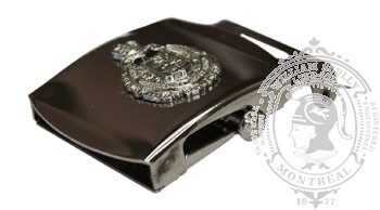 LORD STRATHCONA'S HORSE (ROYAL CANADIANS) SLIDE BUCKLE (SILVER)