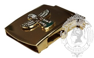 CANADIAN FORCES MILITARY POLICE SLIDE BUCKLE