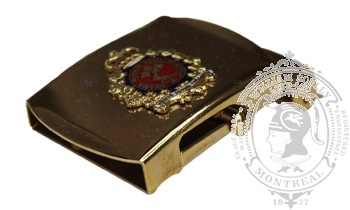 ROYAL MILITARY COLLEGE OF CANADA SLIDE BUCKLE