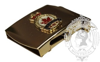 ROYAL CANADIAN LEGION SLIDE BUCKLE