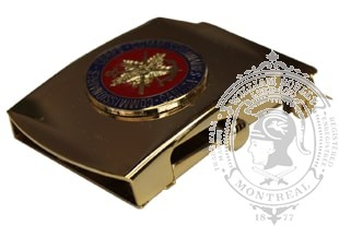 CANADIAN CORPS OF COMMISSIONAIRES SLIDE BUCKLE