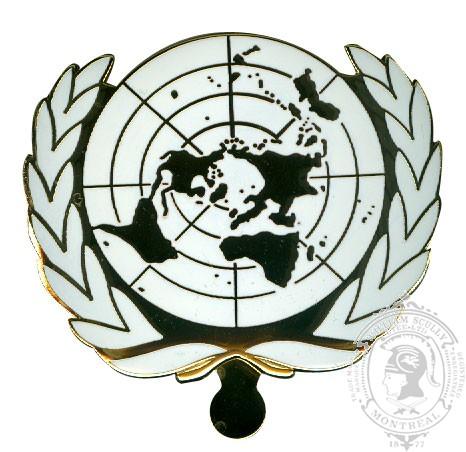 Insigne de képi des Nations unies
