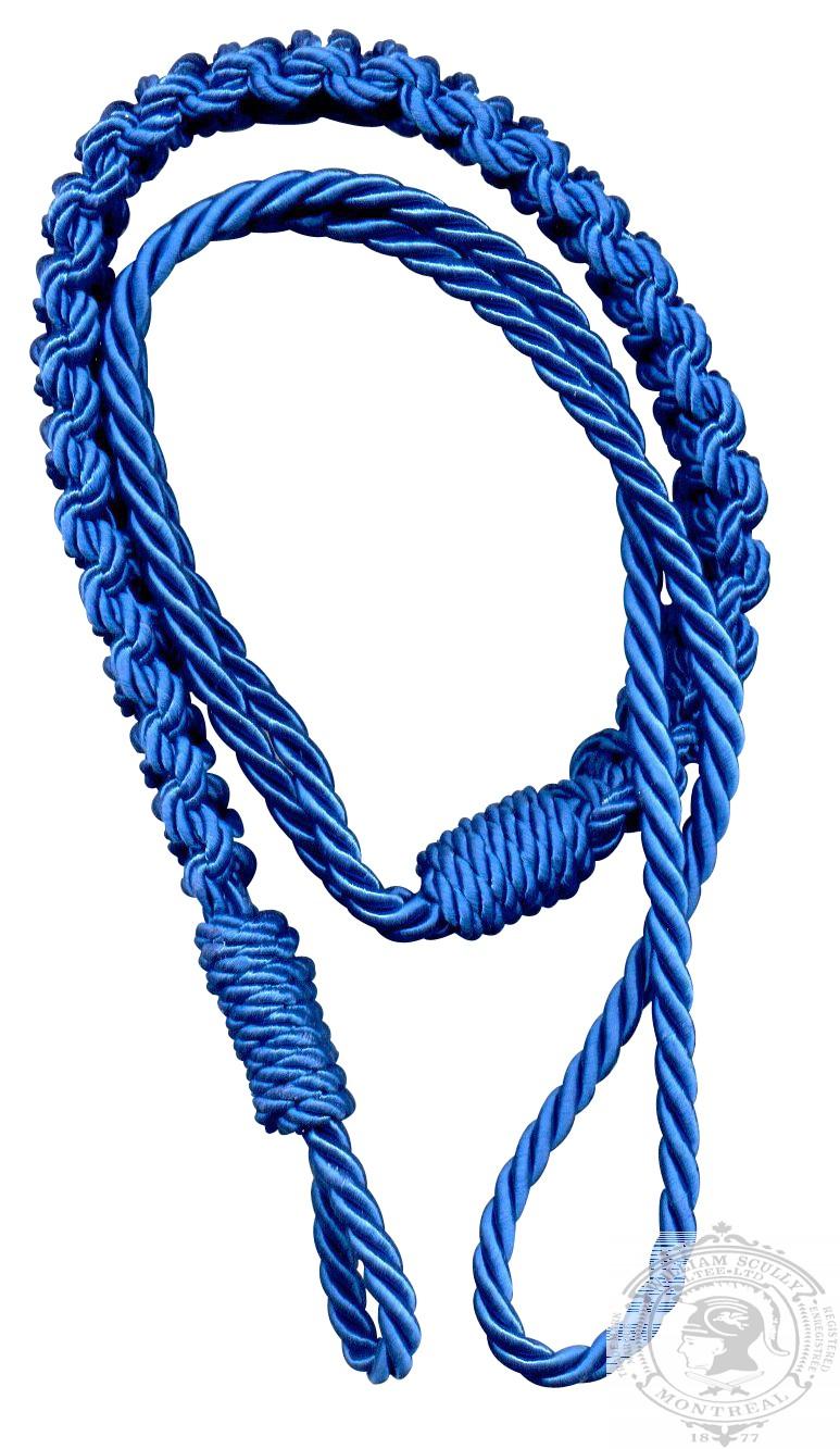 Cordon d'épaule, bleu