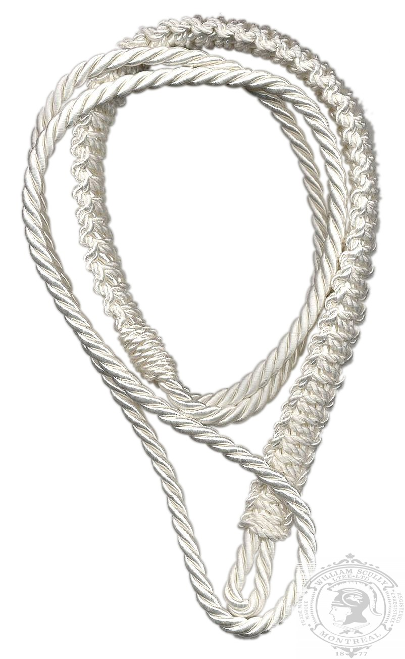 Cordon d'épaule, blanc