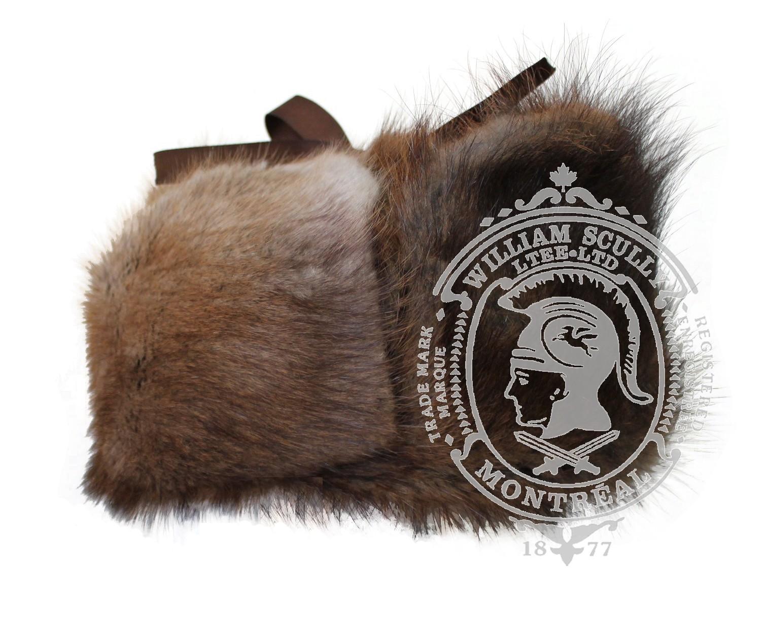 Chapeaux tout fourrure rat musqué 3-1003