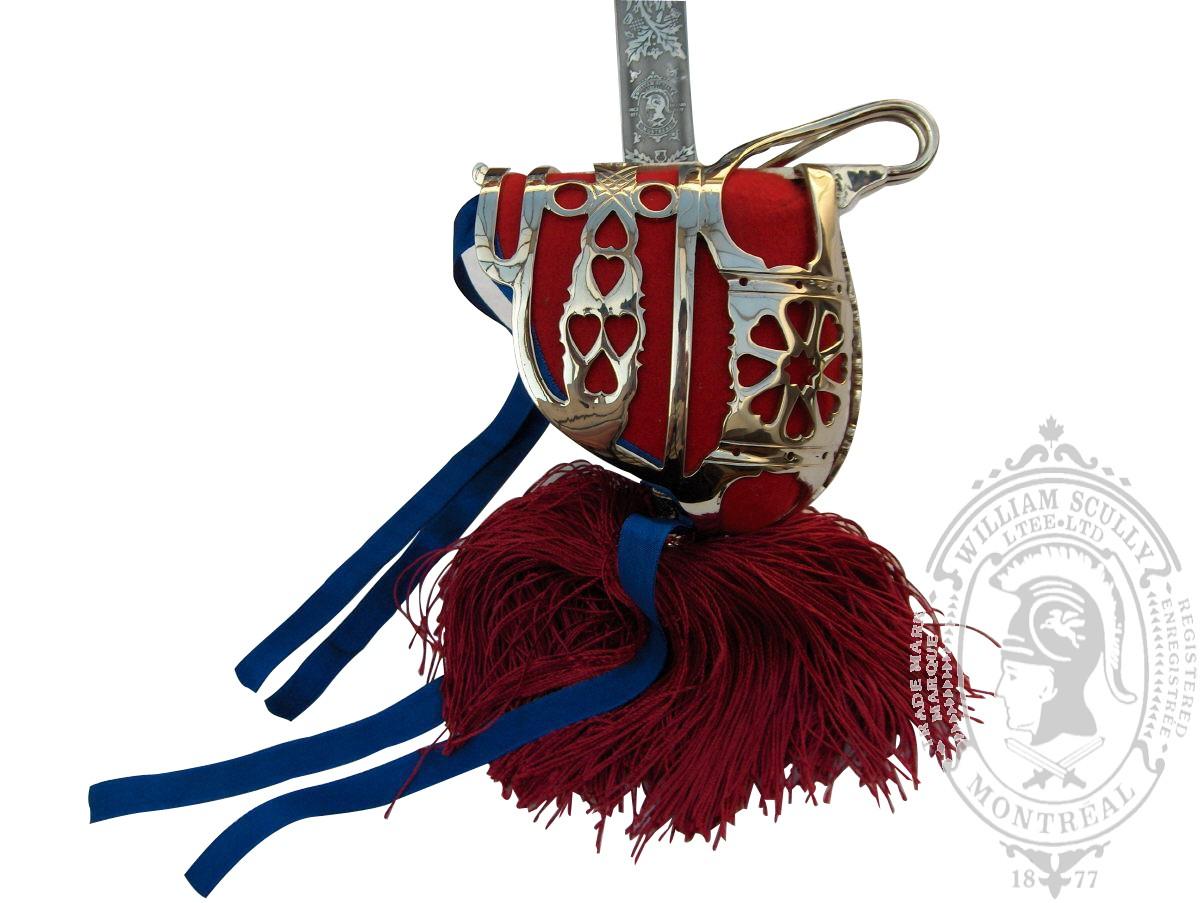Glaive d'officier Highland (CONFORME AUX RÉGLEMENTS MDN)