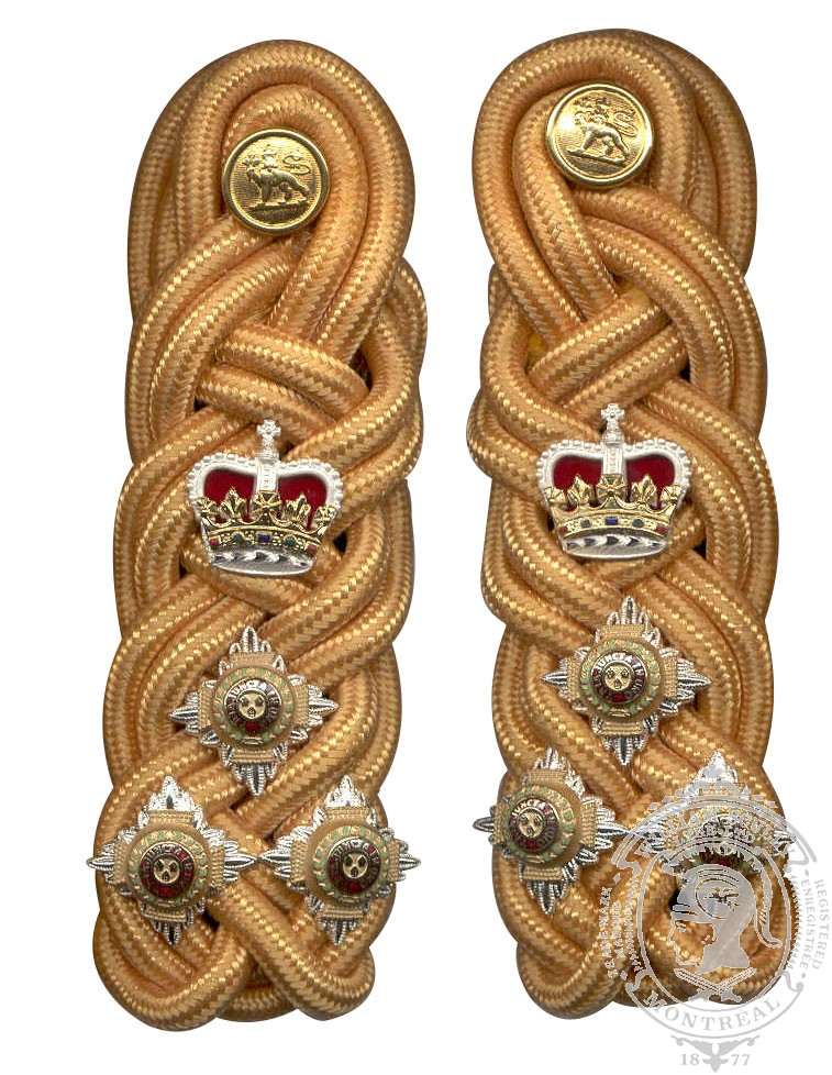 Brigadier Shoulder Knots