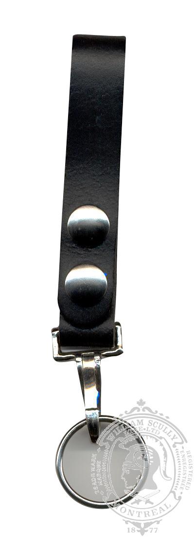 Porte-clé avec courroie en cuir