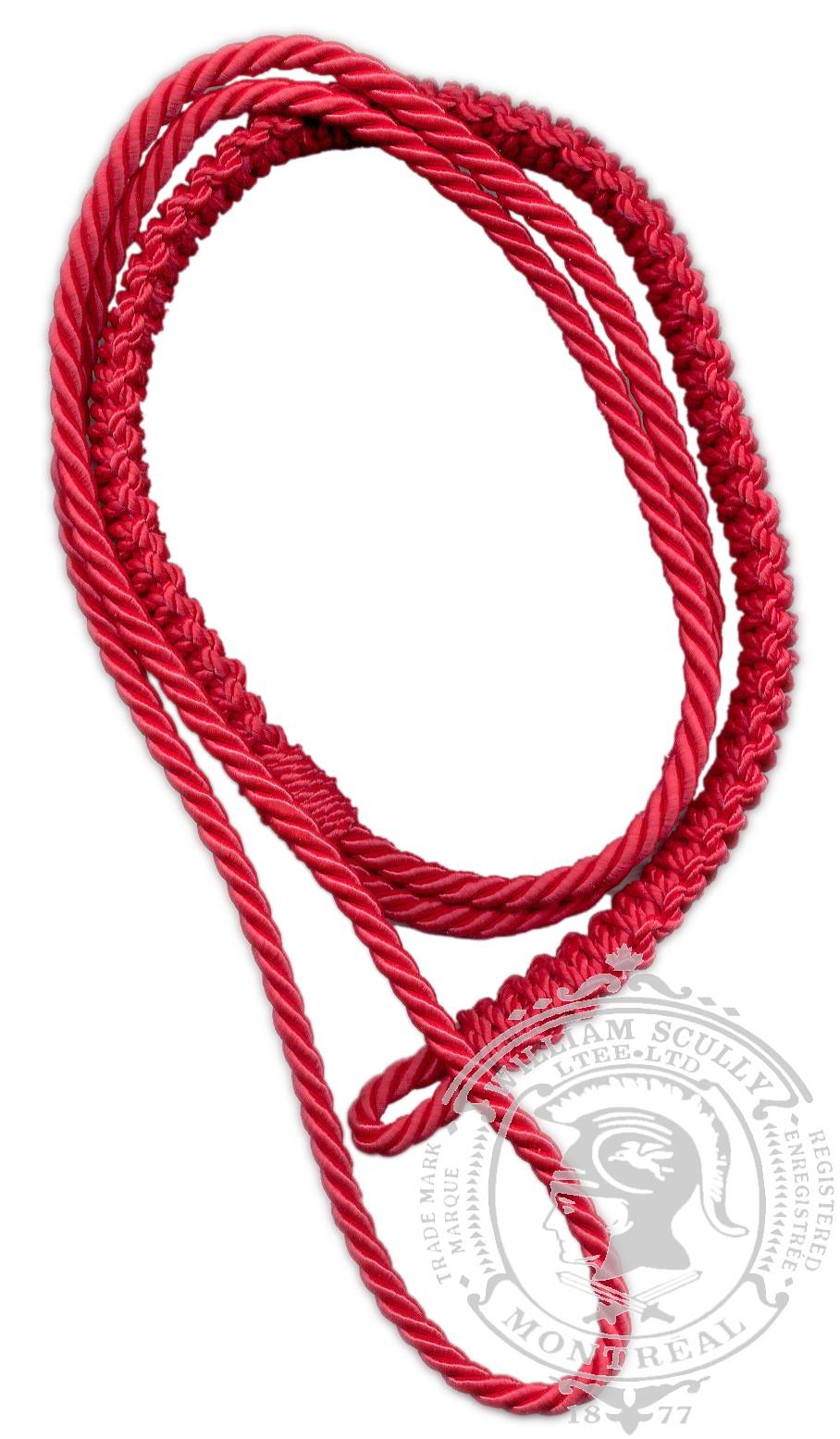 Cordon d'épaule, rouge