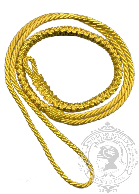 Cordon d'épaule, jaune