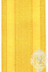 Galon 25mm naval / incendie doré (mtr)