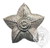Étoile 5 points argent 6-1030S avec vis (paire)