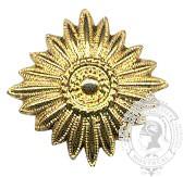 Étoile dorée 6-1031G avec vis (paire)