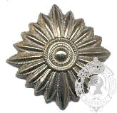 Étoile argent 6-1031S avec vis (paire)