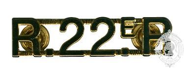 Titres d'épaule R22R