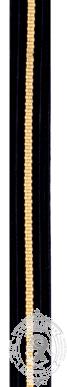 Galon CAFC avec 1 barre doré (mtr)