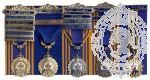 Royal Canadian Legion Medals Mounting