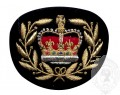 Insigne de rang adjudant maître brodé (fond noir)