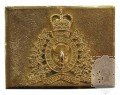 ROYAL CANADIAN MOUNTED POLICE CEREMONIAL BUCKLE STYLE 2