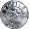 "Bouton ""Police Force"" et couronne"
