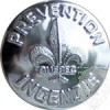 Bouton Prevention incendie